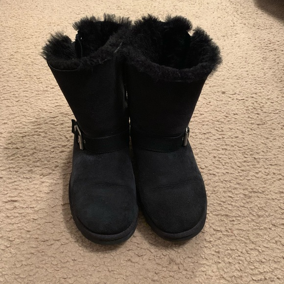7647e61512c Black Ugg boots women's size 8 used